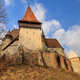 Biertan fortified church in Transylvania, Romania. - PhotoDune Item for Sale