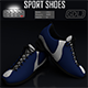 Sport Shoes 3D Models