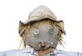 Isolated Scarecrow Head - PhotoDune Item for Sale