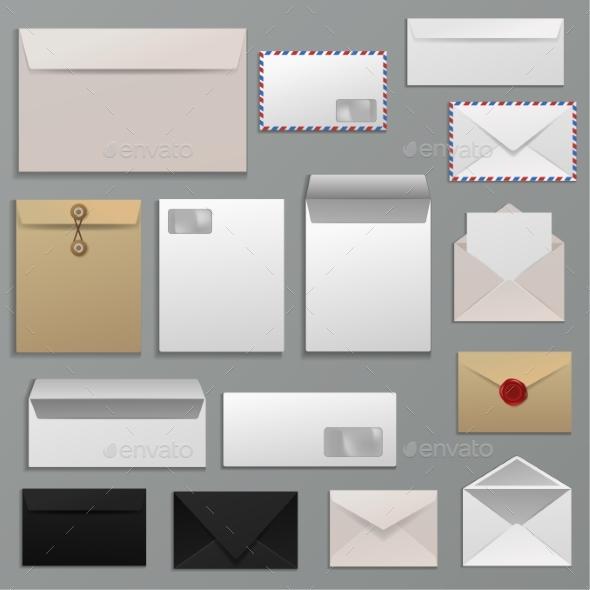 Paper Mailing - Miscellaneous Vectors