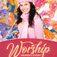 Worship Women Event Church Flyer - GraphicRiver Item for Sale