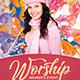 Worship Women Event Church Flyer