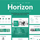 Horizon Business Pitch Deck Keynote Template - GraphicRiver Item for Sale
