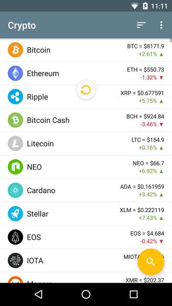 Crypto Coins - Bitcoin Market Android App