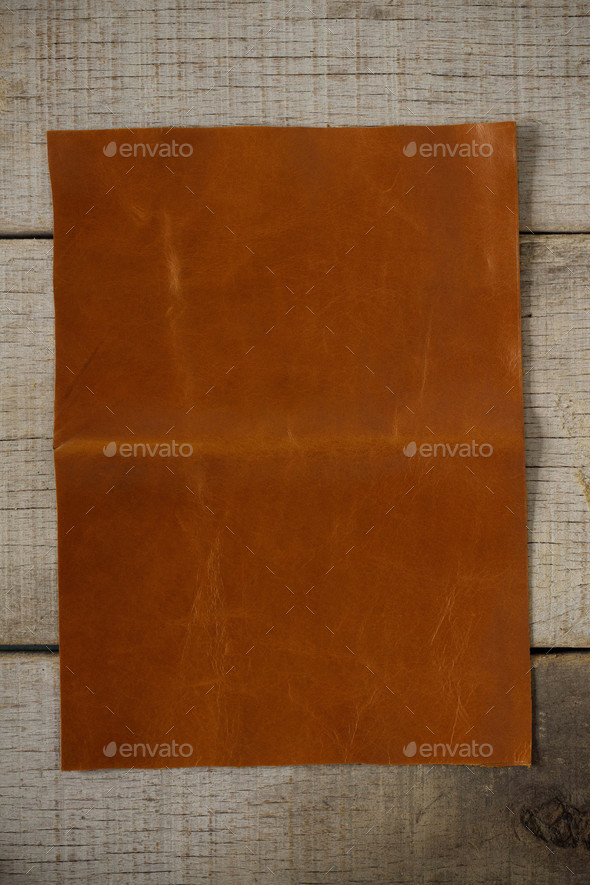 Old leather on floors - Stock Photo - Images