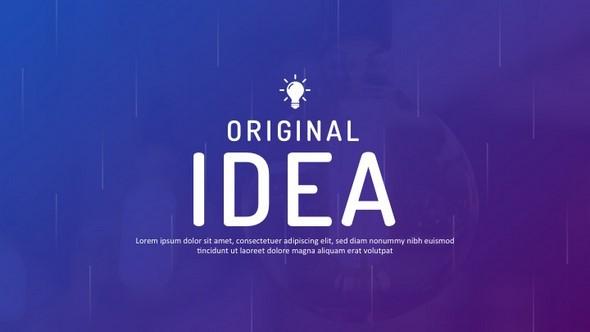 Original Idea Powerpoint Templates