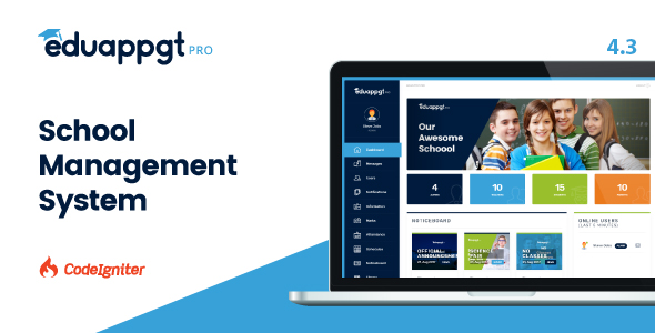 EduAppGT Pro - School Management System - CodeCanyon Item for Sale