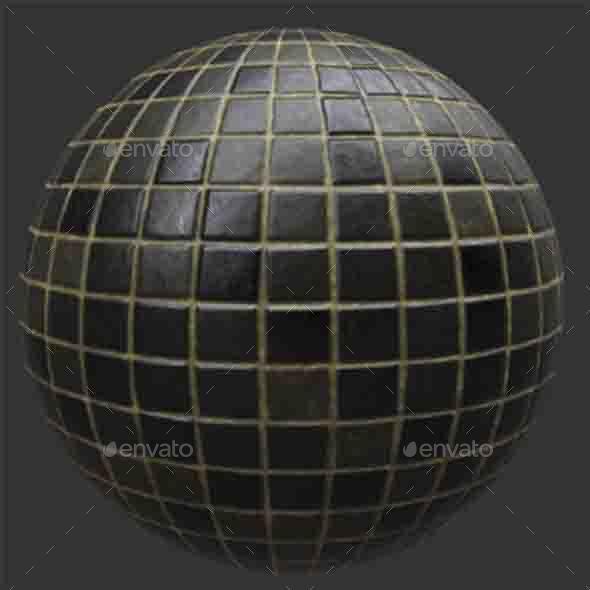 PBR -Tile - 3DOcean Item for Sale