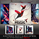 Electro Music CD/DVD Template Bundle Vol. 5 - GraphicRiver Item for Sale