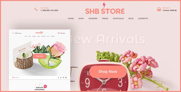 SHB ( Spa, Health & Beauty) - RTL Responsive WooCommerce WordPress Theme - WooCommerce eCommerce