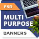 HTML5 Animated Banner Ads - Multipurpose (GWD)