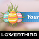 Easter Egg Lower Thirds - VideoHive Item for Sale