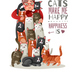 Lady Cats Illustration - GraphicRiver Item for Sale