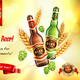 Beer Realistic AD Composition - GraphicRiver Item for Sale