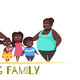 Big Family Illustration - GraphicRiver Item for Sale