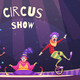 Circus Show Clowns Illustration - GraphicRiver Item for Sale
