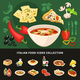 Italian Food Icons Collection - GraphicRiver Item for Sale