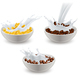 Realistic Breakfast Cereals Milk Set - GraphicRiver Item for Sale
