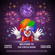 Fireworks Circus Show Background - GraphicRiver Item for Sale