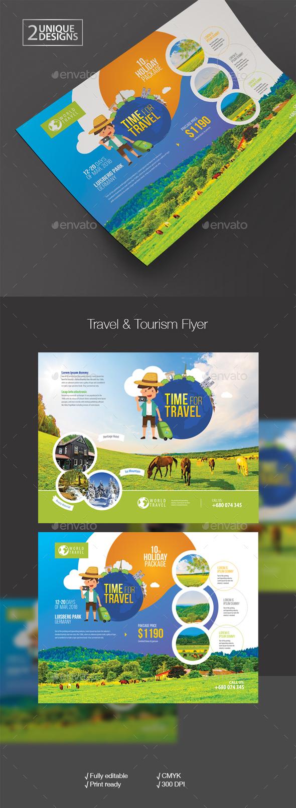 Travel & Tour Flyer - Corporate Flyers