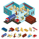 Isometric Warehouse Concept - GraphicRiver Item for Sale