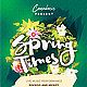 Spring Party Flyer Templates - GraphicRiver Item for Sale