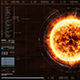 HUD Sun Solar Flare Particles 01 - VideoHive Item for Sale