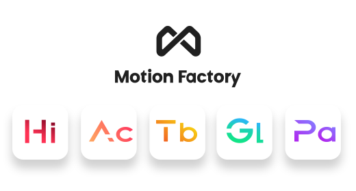 Motion Factory Packs