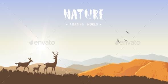 Nature - Animals Characters