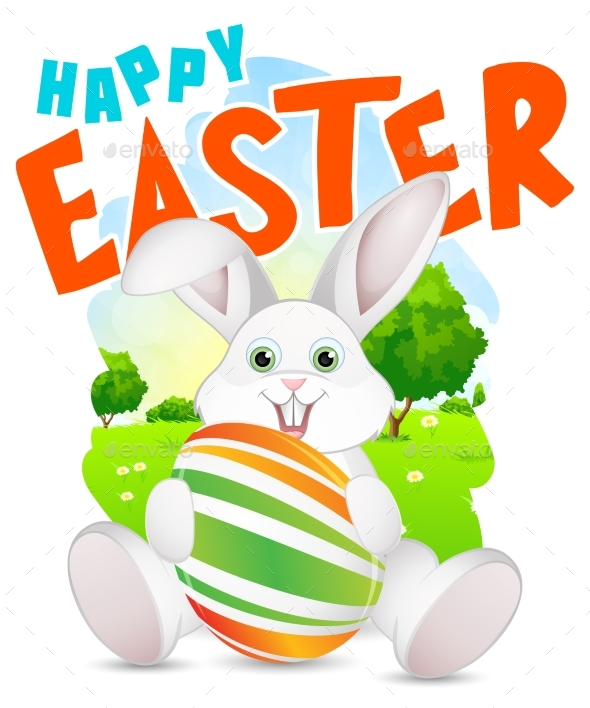 Happy Easter Illustration - Miscellaneous Seasons/Holidays