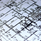 Architecture Blueprint Drawing On Touch Screen Computer - VideoHive Item for Sale