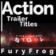 Action Trailer Titles - VideoHive Item for Sale