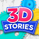 3D Stories - Animated Icons - VideoHive Item for Sale