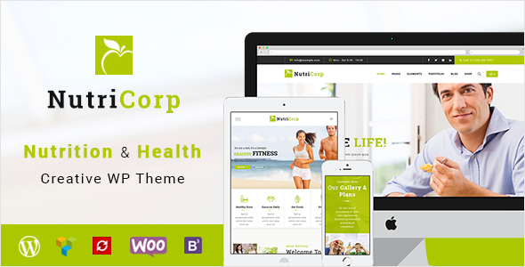 Image of Nutricorp | Nutrition & Health Creative WordPress Theme
