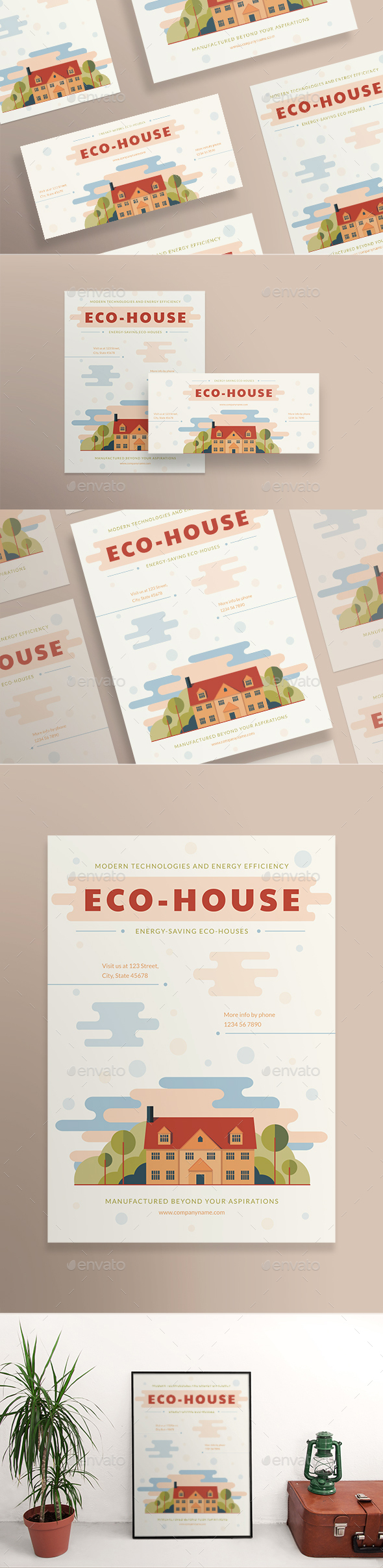 Eco House Flyers - Corporate Flyers