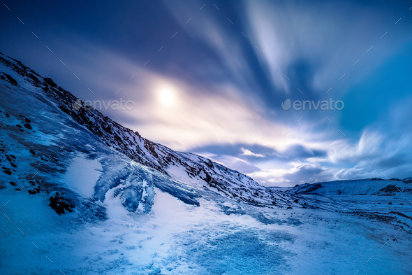 Solheimajokull glacier - Stock Photo - Images