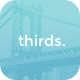 thirds. - 3 Column Tumblr Grid Theme - ThemeForest Item for Sale