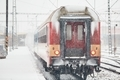Railway during heavy snowfall - PhotoDune Item for Sale