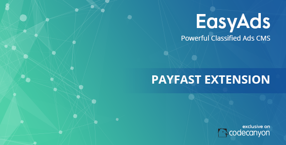 EasyAds integration with PayFast