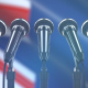 Speech Podium with New Zealand Flag - VideoHive Item for Sale