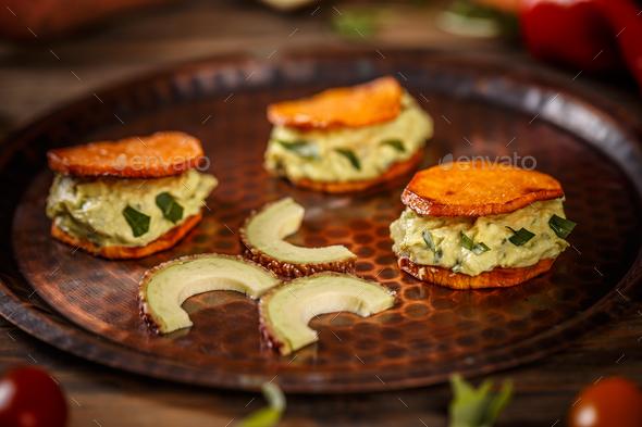 Avocado cream - Stock Photo - Images
