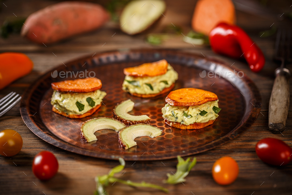 Vegetarian starter - Stock Photo - Images
