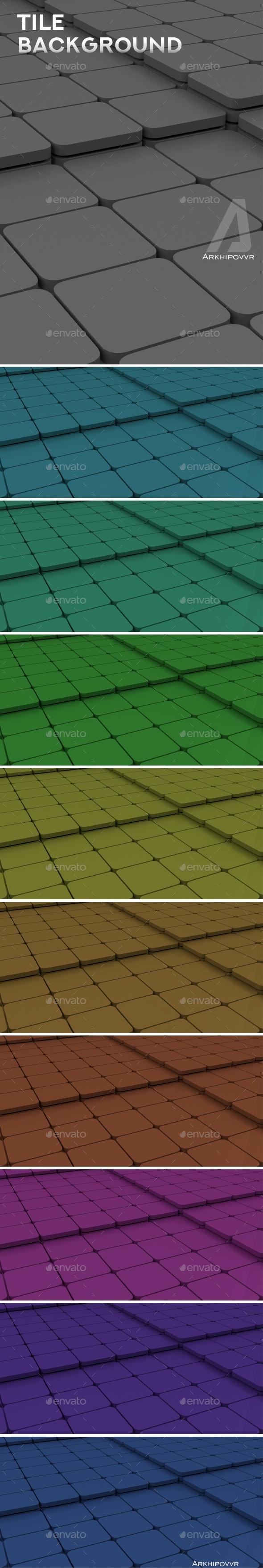 Tile Backgrounds - 3D Backgrounds