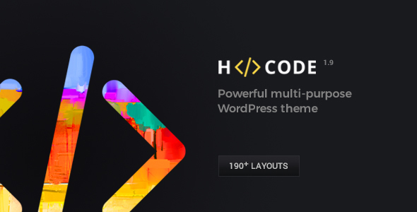 H-Code Responsive & Multipurpose WordPress Theme - Corporate WordPress