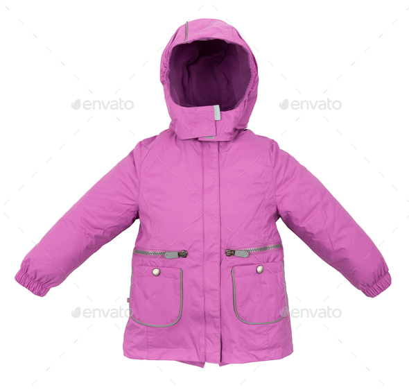 Women winter jacket - Stock Photo - Images