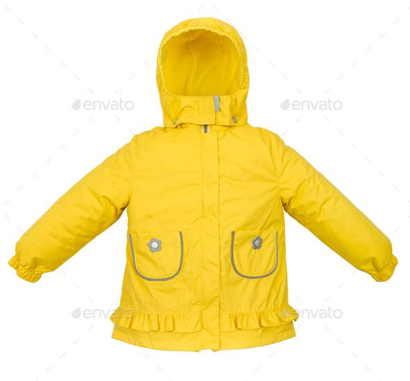Women winter jacket - Stock Photo - Images