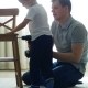 Baby with His Father Are Collecting a Baby Chair By Tools - VideoHive Item for Sale