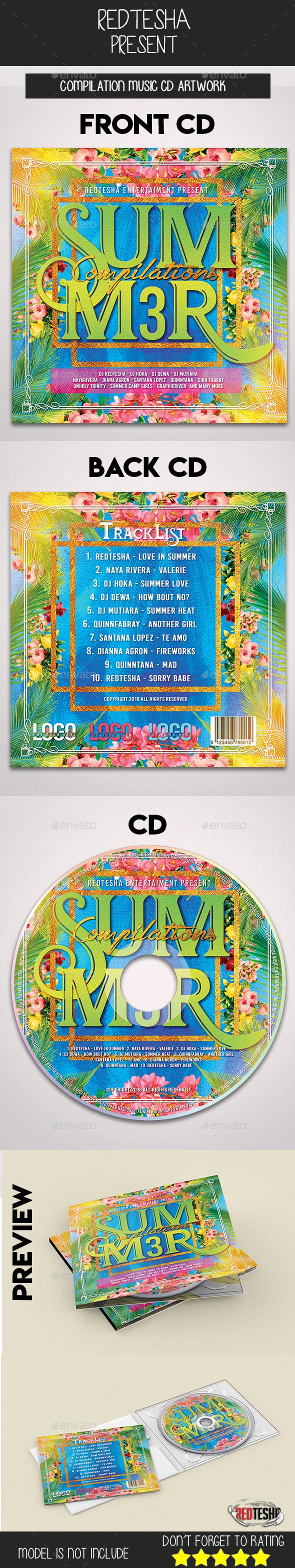 Music CD Artwork - CD & DVD Artwork Print Templates