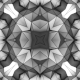 Monochrome Geometric Kaleidoscope - VideoHive Item for Sale