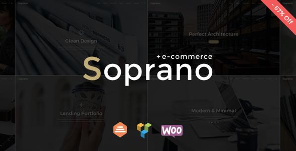 Image of Soprano - Minimalistic Multi-Purpose WordPress Theme
